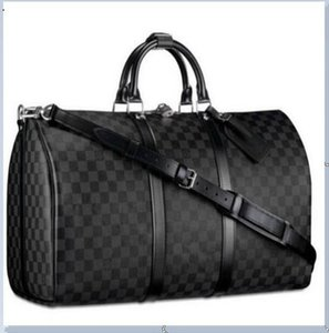 78LVlouisvuitton Designer luxurys echten Taschen Reisegepäck Blumenmuster Handtasche Seesack Lederqualität