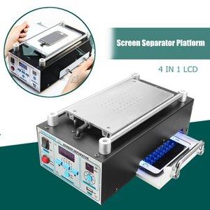 Doersupp 110 / 220v Lcd réparation machine à vide plastifier Machine à écran tactile séparateur Kit pour