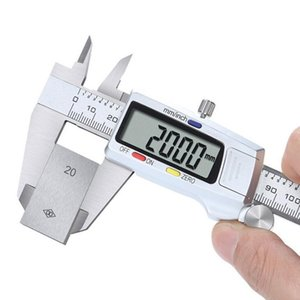 Stainless Steel Digital Caliper 150mm measuring range Messschieber paquimetro measuring instrument Vernier Calipers free shipping