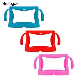 Cover Kids With Protector Skin pouces de protection souple Carry 7 Shell enfants Pour Besegad Poignées Etui universel en silicone Tablet YgKlW