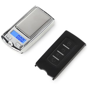 Mini Präzisions-Digital-Skalen für Silbermünze Gold-Diamant-Schmucksachen Gewicht-Balance Auto-Schlüssel-Entwurf 0,01 Gewicht Elektronische Waagen HWD2201