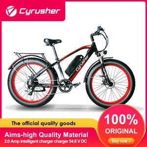 Cyrusherr XF650 1000W Fat Tire vélo électrique 48V 13Ah frein mécanique Shimano 7-délais