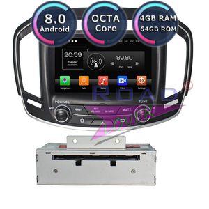 Roadlover الروبوت 8.0 سيارة دي في دي لاعب الوسائط المتعددة لInsigina 2014-2020 ستيريو GPS للملاحة Automagnitol مزدوجة الدين راديو