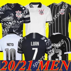 2020 2021 Corinthian nova Paulista de Futebol Jersey 19 20 21 # 10 PEDRINHO M.BOSELLI # 7 LUAN Vagner Love FAGNER Football Shirt Uniforme