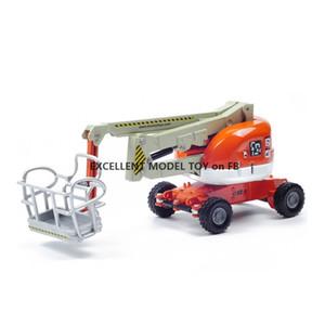 KDW Diecast alliage de travail aérien Modèle de camion jouet, 1:87 Ornement d'ingénierie véhicule, pour Noël pour les enfants de garçon d'anniversaire cadeaux, collecte, 625023,2-1
