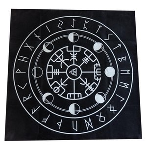 Cards Board Playing Textiles Cloth Cover Tarot Tarot 4 Tarot Flannel Tablecloth Game Divination Table 49x49cm Pentacle Game CqzNH