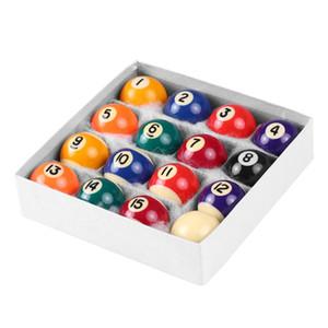 25MM / 38MM Çocuklar Bilardo Masa Toplar Reçine Küçük Havuz Cue Toplar Tam Set top oyunu