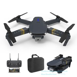 F89 4K Double Camera WIFI FPV Beginner Foldable Drone& Kid Toy, Altitude Hold, Intelligent Follow, Gesture Take Photo, Headless Model, USEU