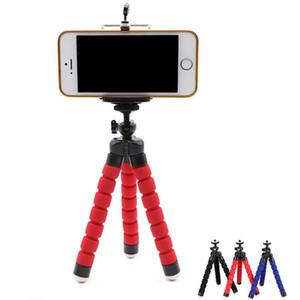 Flexible Krake-Stativ-Telefon-Halter-Universalstandplatz Halter für Handy-Auto-Kamera Selfie Einbeinstativ mit Bluetooth-Fernauslöser