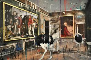 Angelo Accardi Retouche 'su scheda Home Decor dipinto a mano HD Stampa Olio su tela di arte della parete della tela di canapa Immagini 7559