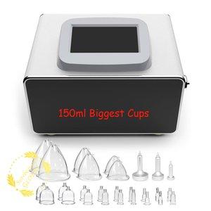 Nuovo vuoto della macchina terapia di Linfodrenaggio massaggio per Glutei / seno più grande di testa di sollevamento del seno Migliora Cellulite Trattamento Coppettazione Optiona