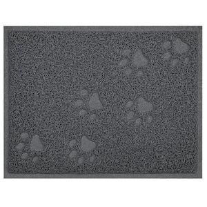 La basura patas Impreso suave alfombra gato admiten portátil Plaza Home perro cojín Espesar Easy Clean no Slip PVC