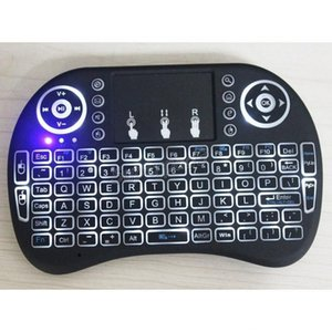 Mini Wireless Fly Air Mouse Rii I8 Plus Аккумуляторный Blutooth 2.4G беспроводной Keyboad игры Touchpad для планшетных ПК Android TV Xbox360