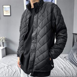 New Fashion Men Hot Jacket Casual Sport Streetwear Mens Womens Jackets Down Warm Tops Quality Jacket Coat Lattice
