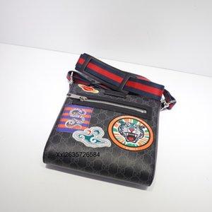 Top1 2020 21..23..4cm Femmes Sacs à main pour hommes, sac à bandoulière, sac à dos, sac de mode en cuir, avec sac à poussière, expédition gratuite