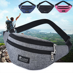 Chest Bag Leisure Waist Bag Outdoor Sports Shoulder Bag Slung Fanny Multifunction Belt Pouch Packs Fanny Pack Men