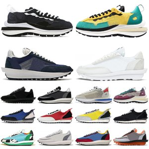 sacai VaporWaffle Vapor Waffle Pegasus Vaporfly Fragment dunky ldv ld pegasus men women running shoes triple mens trainers sports sneakers runners