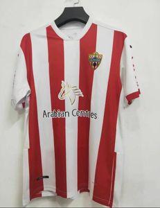 União Deportiva Almeria 2020 2021 Camisetas de fútbol 14 GUTI Sekou MUNOZ CHEMA LAZO GASPAR PETROVIC Custom Home 20 21 Camisetas d