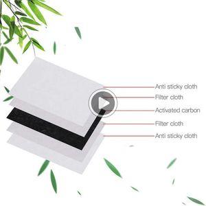 100pcs / Lot PM 2.5 Filter 5-Ply Aktivkohlefilter KN90 Luftfilter für Cotton Fa Mask fa Maske