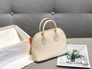 AS430European and American popular logo high-end fashion simple lady cross body bag pure handmade leather cross shoulder bag