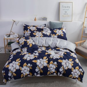 Active printing beautiful quilt cover and pillowcase, bed decoration combination products, creative pattern design