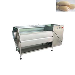 Blanc Radis laver et peler les fruits Navet Brushing Oyster Snail Scallop Nettoyage Tapioca lave-linge de gingembre frais Machine à laver