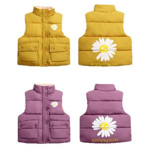 4-10 Years Children Warm Vest Autumn Boys Thicken Waistcoat Kids Outerwear Vests Children Clothing Teenager Girls Jackets Vest