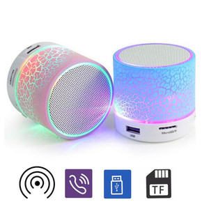 Bluetooth Speaker A9 Stereo Mini Speakers TF USB FM Wireless Portable Music Sound Box Subwoofer Loudspeakers For phone PC with Mic