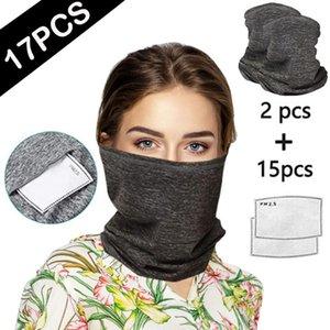 Outdoor Sports Men Women Hiking Scarves Turban Scarf Bicycle Neck Tube Bandana Face Cover Dustproof Windproof Bandana#G3