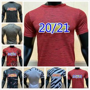 new 2020 21 Player Version Soccer Jersey #6 POGBA #34VAN DE BEEK Soccer Uniform 2021 #10 RASHFORD LINGARD MARTIAL Football Shirt