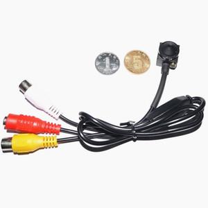 CCTV Mini Seguridad cámara oscura, la cámara 1200TVL CVBS con micrófono 6mm lente de visión nocturna por infrarrojos cámara CMOS HD