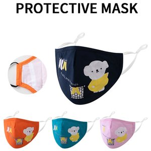 Fashion Cotton quality Kids Designer Face Mask children Cartoon Face Masks PM2.5 Dustproof Protective Reusable Mask