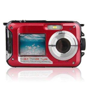 48MP Unterwasser wasserdichte Digitalkamera Dual Screen Video Camcorder Point und Shoots Digitalkamera GK99