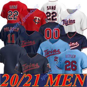 2020 2021 Twins Jersey Josh Donaldson Puckett 20 21 Berrios Astudillo Arraez Polanco Miguel Sano Byrron Buxton Max Kepler Cruz Rosario 02