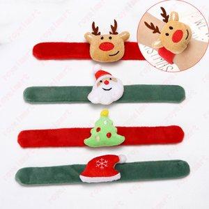 Çocuklar Noel Bileklik Noel Çizgi Bant İçin Çocuk Hediye Noel Dekorasyon Noel Baba Elk 3 * 24 cm Noel Bilezik Ücretsiz Kargo