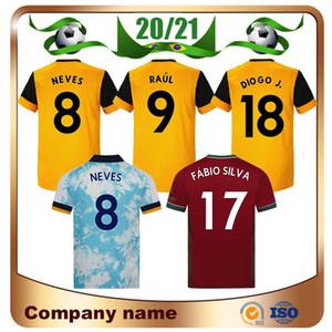 20/21 ADAMA Vitinha calcio domestico Jersey 2020 Lupi Lontano NETO NEVES RAUL Calcio Camicie Podence DIOGO J 3 ° football