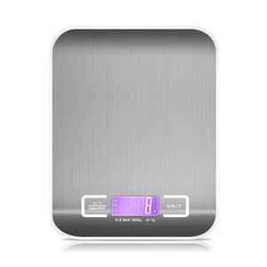 Household Kitchen scale 5Kg 1g Food Diet Postal Scales balance Measuring tool Slim LCD Digital Electronic Weighing scale