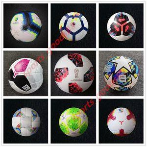 Alta Calidad Europea PU Bola del balón de fútbol 2019 2020 Final de Kiev Tamaño 5 bolas gránulos de deslizamiento resistente al envío de fútbol