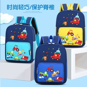 Sevimli Schoolbag Karikatür Sırt Çantası Renk Kindergarten Çocuk Naylon Lettered Childrens 2020 Kontrast KJFLE