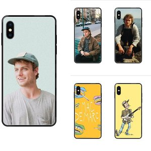 Para el iPhone de Apple 11 12 XS Pro Max XR X 8 7 6 5 6S Plus piel 5S SE Soft TPU protector divertido Mac Demarco corazón