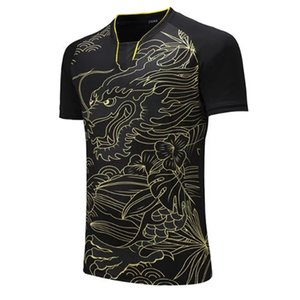 CHINA Dragon Team table tennis shirt Men   Women, Tennis t-shirts ,sports golf Pol o shirt , pingpong sports t-shirt 202#