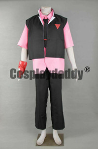 Beyblade Burst Four Blader Shu Kurenai Uniform Outfit Game Cosplay Costume