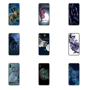 Для iPhone SE2020 11 12 Plus Pro X XS Max XR 8 7 6S SE 5 5C 5S TPU Art Online Cover Case Cheshire Cat Art