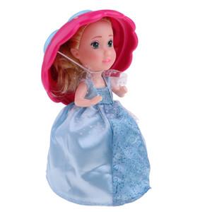Süße Vanille-Kuchen-Lorie Puppen Spielzeug mit Überraschung, Kuchen-Transformation zu Prinzessin Puppe