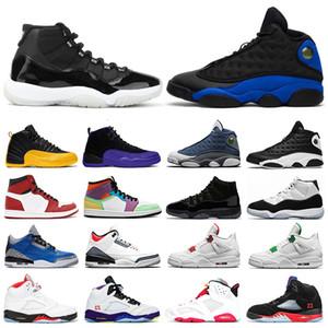 nike air jordan retro 2020 11 11s 13s para hombre de los zapatos de baloncesto inversa Una mala jugada Concord 45 Zapatos Rojo universitario 4s XI deporte de los hombres 7-13