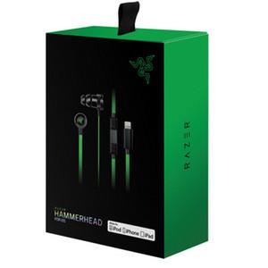 Razer Hammerhead Pro V2 auriculares en el auricular del oído con el micrófono Con caja al por menor en los auriculares del oído del juego aislamiento de ruido estéreo bajo 3.5mm