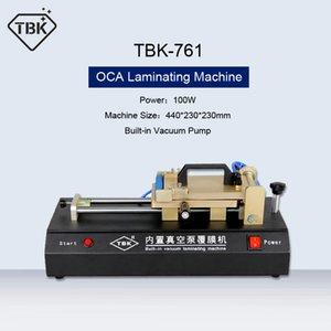 TBK-761 OCA di laminazione della pellicola Macchina Built-in Vacuum Pump universale OCA Laminator Per LCD Touch di Samsung di riparazione dello schermo