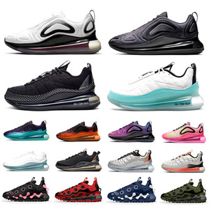 Bubble Pack 720 ispa 720-818 Mens Running shoes Triple Black GS Sea Forest Clean White Aqua CNY 720s Men Women trainers Sports sneakers