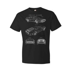 Delorean DMC-12 Shirt Ingegnere Back To The Future Car Collector Automotive