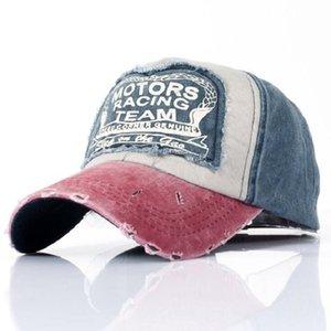 Wholesale Spring Cotton Cap Baseball Caps Snapback Hat Summer Cap Hip Hop Fitted Cap Hats For Men Women Grinding Multicolor